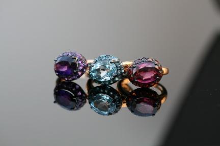 bagues-dydewalle-or-rose-topaze-grenat-améthyste