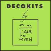 Logo Decokits by sur fond vert récupéré du site internet